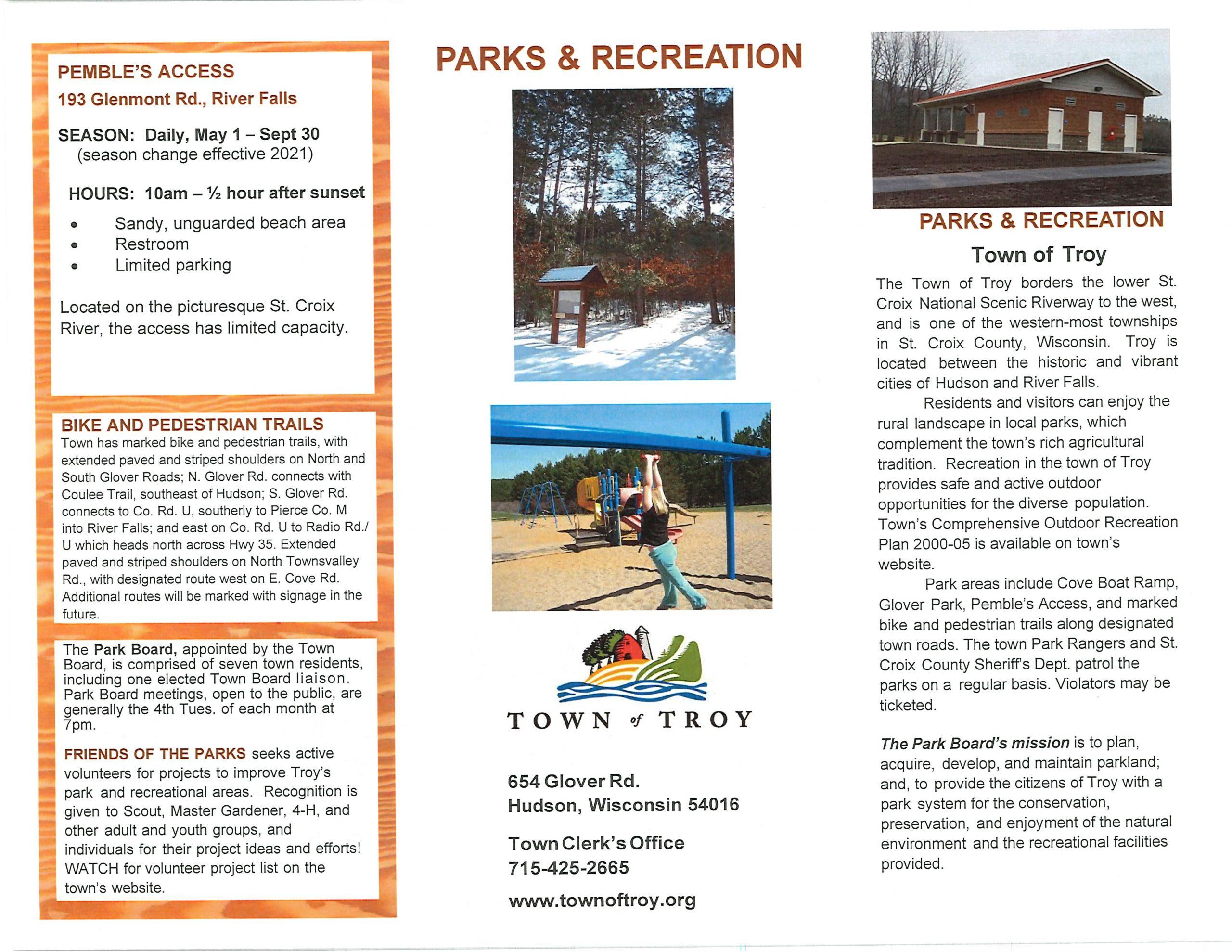 park brochure front page 03 2021